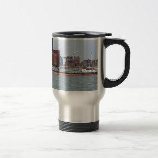 Inland Cargo Vessel Purgo Travel Mug