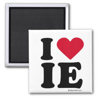 INLAND EMPIRE -I LOVE IE - I LOVE INLAND EMPIRE MAGNET