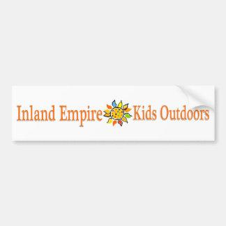 Inland Empire Kids Outdoors Car Bumper Sticker