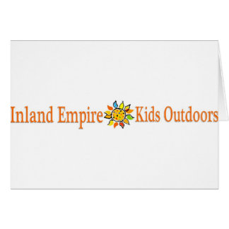 Inland Empire Kids Outdoors Card