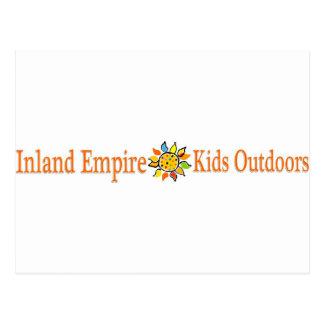 Inland Empire Kids Outdoors Postcard