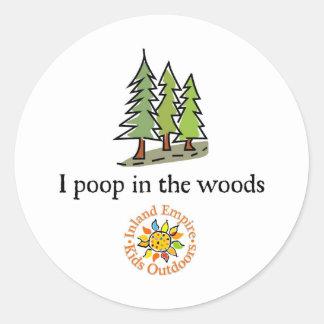 Inland Empire Kids Outdoors Round Sticker