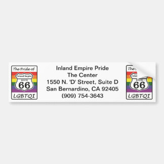 Inland Empire Pride Bumper Sticker