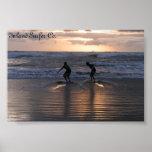 Inland Surfer Print