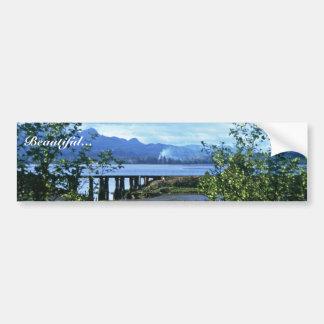 Inland Waterway, Oregon Coast Car Bumper Sticker