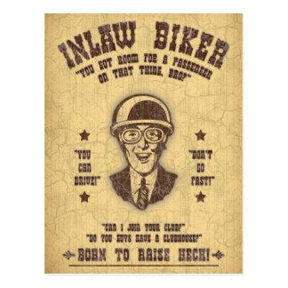 Inlaw Biker II Postcard