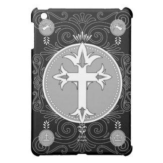 Inlayed Cross iPad Case