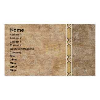 Inlayed Stone Wall Business Business Card Templates