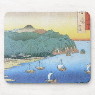 Inlet at Awa Province by Ando Hiroshige Mouse Pad