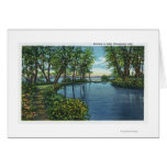 Inlet Entrance View Greeting Card