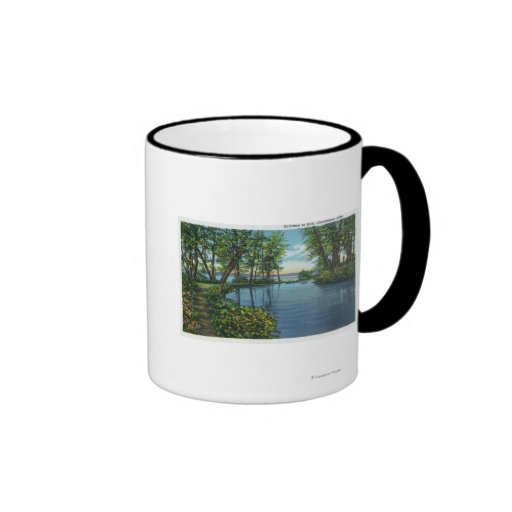 Inlet Entrance View Coffee Mugs