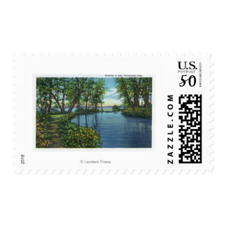 Inlet Entrance View Postage