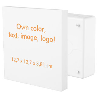Inlet & Faceplate uni White ~ Own Color Outlet Cover