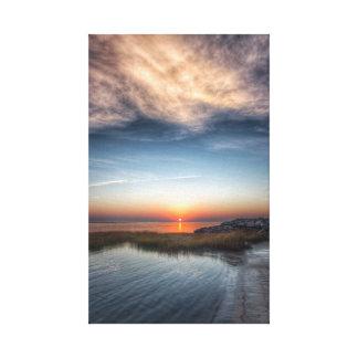 Inlet Sunrise Canvas Print
