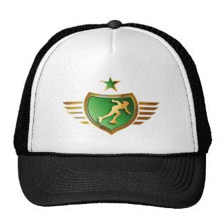 inline more skater trucker hat