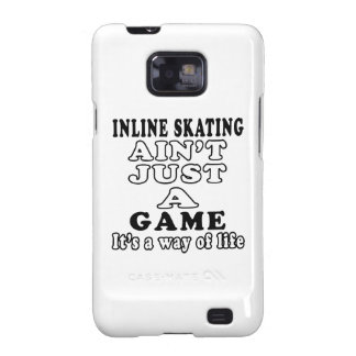 Inline Skating Ain't Just A Game Galaxy S2 Case