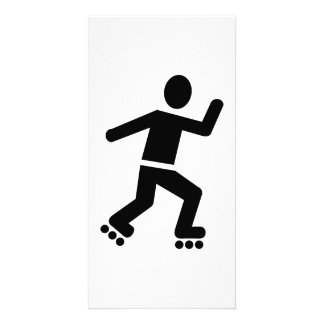 Inline Skating Photo Cards