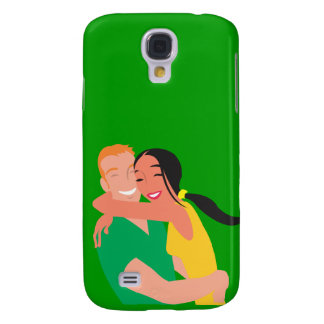 inlove_Vector_Clipart love dating man woman Samsung Galaxy S4 Covers