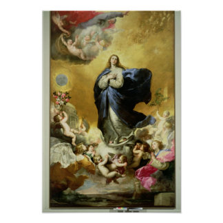 Inmaculada Concepción, 1635 Poster