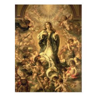Inmaculada Concepción, 1670-1672 Postal