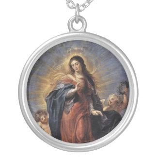 Inmaculada Concepción Colgante Redondo
