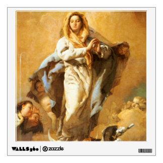 Inmaculada Concepción con las querubes - Tiepolo