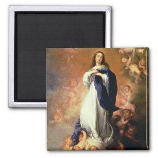 Inmaculada Concepción del Escorial, c.1678 Imán Cuadrado