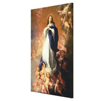 Inmaculada Concepción del Escorial, c.1678 Impresiones En Lona Estiradas