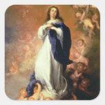 Inmaculada Concepción del Escorial, c.1678 Calcomanía Cuadradase
