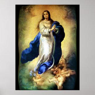 Inmaculada Concepción del Virgen María - Murillo Impresiones
