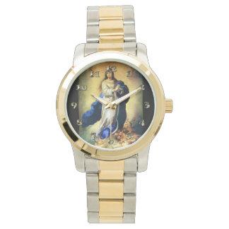 Inmaculada Concepción del Virgen María - Murillo Reloj