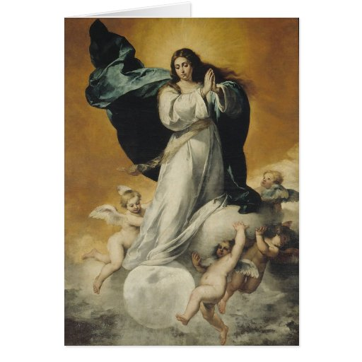 Inmaculada_Concepcion_(La_Colosal) Stationery Note Card