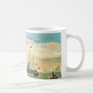 Inman Steamship Company Coffee Mug