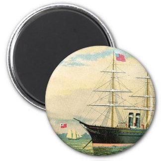 Inman Steamship Company Magnet