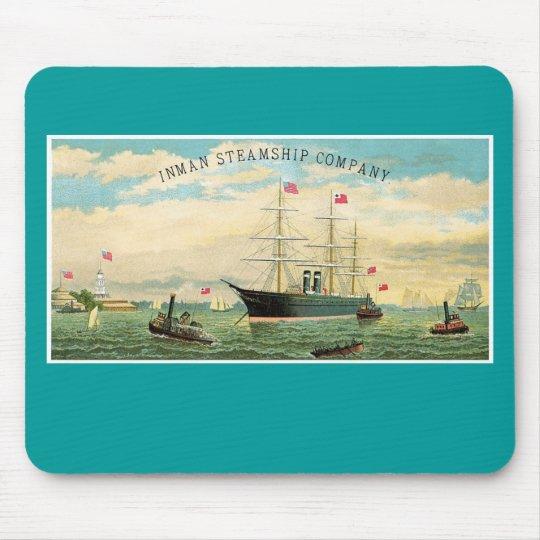 Inman Steamship Company Mouse Pad