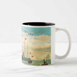 Inman Steamship Company Coffee Mugs