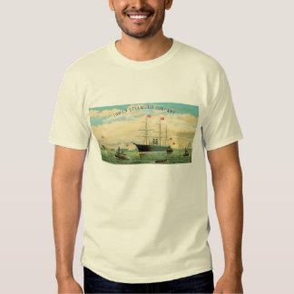 Inman Steamship Company Remeras