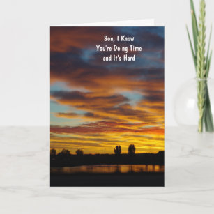 Inmate cards zazzle inmate greeting card for your son gospel message m4hsunfo