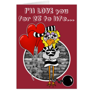 Inmate Valentine's Day Card