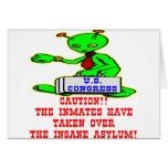 Inmates Taken Over Washington DC Insane Asylum Greeting Cards