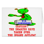 Inmates Taken Over Washington DC Insane Asylum Greeting Card