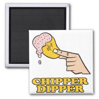 inmersión chipper del microprocesador del cazo imán para frigorífico