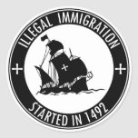 Inmigración ilegal comenzada en 1492