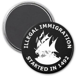 Inmigración ilegal comenzada en 1492 imanes