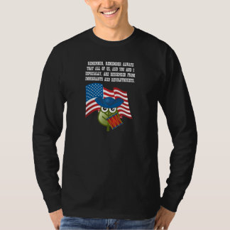 Inmigraciones y Revolutionists Camisas