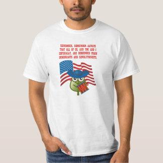 Inmigraciones y Revolutionists Playera