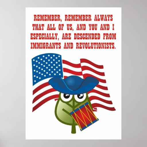 Inmigraciones y Revolutionists Posters