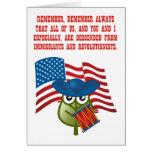 Inmigraciones y Revolutionists Tarjetas