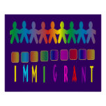 Inmigrante Posters