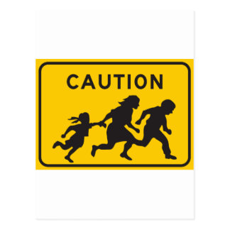 Inmigrantes ilegales que cruzan la muestra de la postales